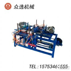 木工全自动双轴榫槽机 双轴双端打眼机