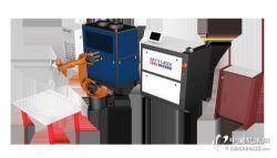 機器人激光清洗系統