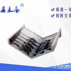 烟台850冷板导轨钢板防护罩  伸缩防护罩 保护导轨