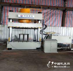 三梁四柱500吨液压机 PLC编制快速压制成型液压机