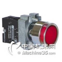 供应施耐德XB2BW34B1C平头带灯按钮开关(弹簧返回)