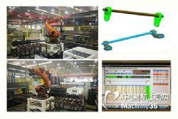 轨道车辆抗侧滚扭杆智能组装测试生产线