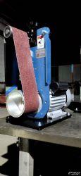 多功能小型砂帶機臺式立臥兩用打磨拋光機