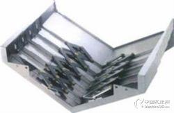 拉筋式钢板防护罩 机床导轨防尘罩 机床钣金价格