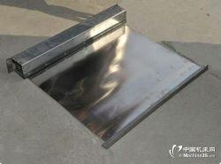 箱体式卷帘防护罩 特殊钢板伸缩防护带价格