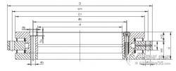 交叉滾子軸承裝配自動化 YRT180