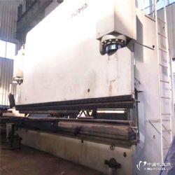 倒闭厂转让二手数控折弯机160吨4米液压板料剪板机回收