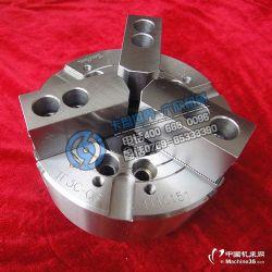 台湾通福大孔径三爪中空液压卡盘油压夹头TF3C-8A6