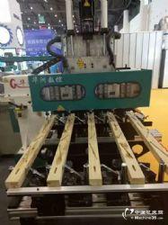 华洲数控木工机械打卯机,榫槽机