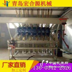 葫芦岛木工机械拼板机MY2500拼接机翻转式气动接板机