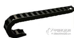 厂家直销塑料尼龙拖链 全黑型桥式拖链 机床拖链