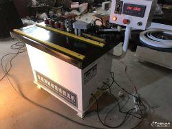 供直销 木工机械 手提 小型 双面涂胶 曲直线手动封边机