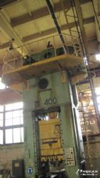 二手俄产400T闭式单点压力机KA2536