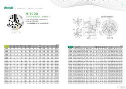 台湾亿川三爪中空液压卡盘N-200A系列
