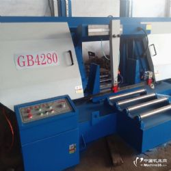 供应GB4280龙门金属锯床 成捆H钢切割专用锯床