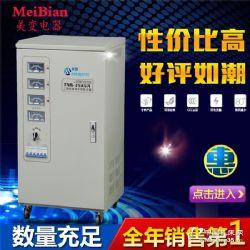 供应TND、TNS高精度全自动交流稳压器