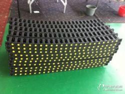 工程塑料拖链塑料坦克链