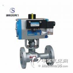 供应Q641PPL\H气动一体式高温球阀