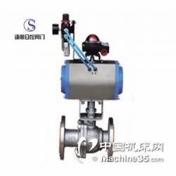 供应Q641F气动铸钢浮动软密封球阀