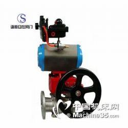 供应Q641F气动带手动自动复位球阀