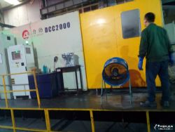 二手力劲2000T铝合金压铸机
