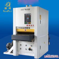 青島廠家直銷木工刨砂機全自動重型砂光機多少錢一臺定尺定厚