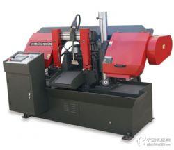 厂家直销GS320数控锯床金属全自动切割双立柱卧式带锯床