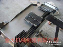 臺群T-10加工中心Y軸配套鋼板防護罩生產廠家