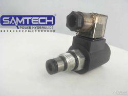 液壓插裝二位二通電磁閥/常開螺紋電磁球閥SV08-2NOP