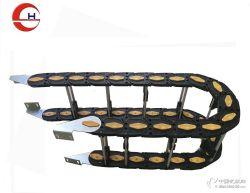 厂家铝棒式拖链工程穿线拖链