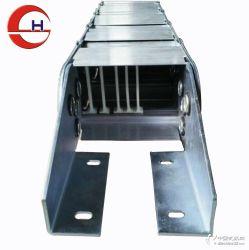 全封閉鋼鋁拖鏈穿線電纜坦克鏈廠家