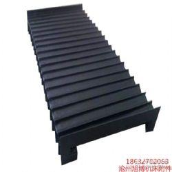 机床防尘罩耐高温风琴防护罩直线导轨伸缩式防护罩