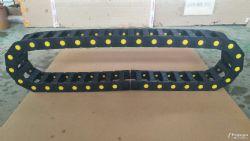 机床穿线拖链尼龙桥式坦克链工程塑料拖链