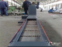 供應數控刨臺鏜床鏈板排屑機