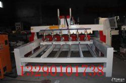供应多头数控全自动圆柱雕刻机木工圆柱平面一体机