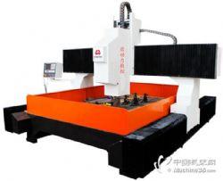 立式龙门数控钻床 通用钻削法兰�不锈钢全自动钻孔机床 平面