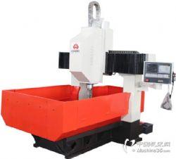 小型高速数控钻床1米龙门式法兰钢结构钻孔攻丝全自动机床
