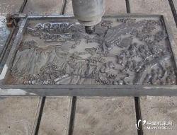 供應石材雕刻機廠家 刻字雕刻機功德碑刻 背景墻浮雕機