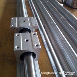 供应圆柱直线导轨滑块 直线光轴带铝托SBR