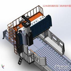 动柱式 数控龙门铣床 龙门铣床规格