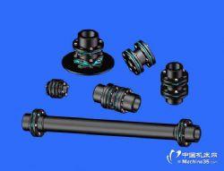 碳纤维传动轴膜片联轴器