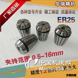 ER25夾頭 雕刻機刀夾 電主軸 銑床夾頭 刀桿 刀把筒夾