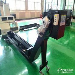 供应台湾晁群FV-1370立式加工中心链板式排屑机