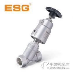 ESG角座阀-101系列气控角座阀-107系列Y型手动角座阀