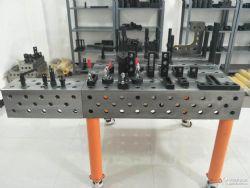 供应三维柔性焊接平台多功能焊接平台机器人组合工作台