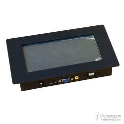 供应7寸8寸触摸嵌入式工业液晶显示器