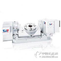 供应台湾谭佳TJR第五轴数控分度盘 旋转工作台CNC转台