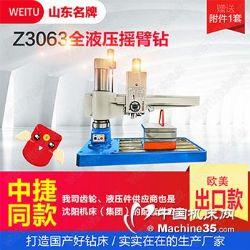 伟途机床 生产厂家z3063摇臂钻床立式钻床