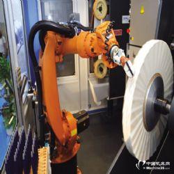 供应抛�L雷旋�L突然形成了一��小型旋�L光打磨机器人 广东东莞安川机�器人系统集成商