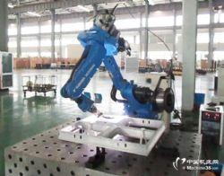 安川機器人焊接鋁架